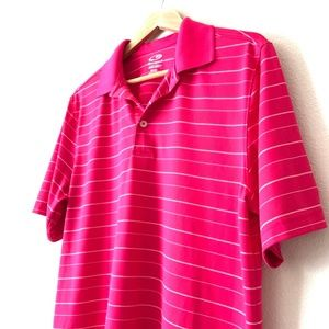 CHAMPION Hot Pink Duo Dry Polo M